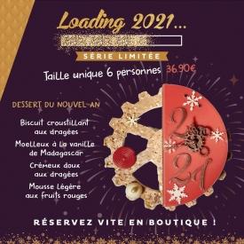 ✨Faites vous plaisir en ce réveillon du 31 Décembre avec notre entremet du Nouvel An !✨  Pour 6 personnes, ses douces saveurs Dragées/Fruits Rouges raviront tous les gourmands 😋  📞 Réservez vite en appelant votre boutique préférée !   #aupetitprince #auray #baud #carnac #belz #locoal #pastry #patisserie #nouvelan #reveillon #31decembre #pastrychef #yummy #miam #instafood #foodporn #relaisdesserts