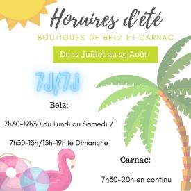 📣 Ce lundi, n'oubliez pas !   👉 Vos boutiques de Carnac et Belz vous accueillent toute la journée pour vous servir gâteaux 🍰, viennoiseries 🥐, boissons 🍹, sandwiches 🥪, glaces 🍦 et tout plein d'autres délices !   À consommer sur place ou à emporter 🍽  ⚠️ À partir de demain mardi, votre boutique de Baud est fermée pour congés annuels jusqu'au Lundi 09 Août inclus.  #aupetitprince #auray #baud #carnac #belz #pluvigner #locoal #bretagne #morbihan #pastry #pastrychef #yummy #miam #gourmandise #greedy #photographie #relaisdesserts #epv #collegeculinairedefrance #artisan #instafood #foodporn